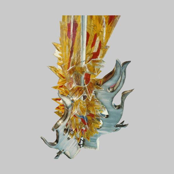 Detail vuurbeeld